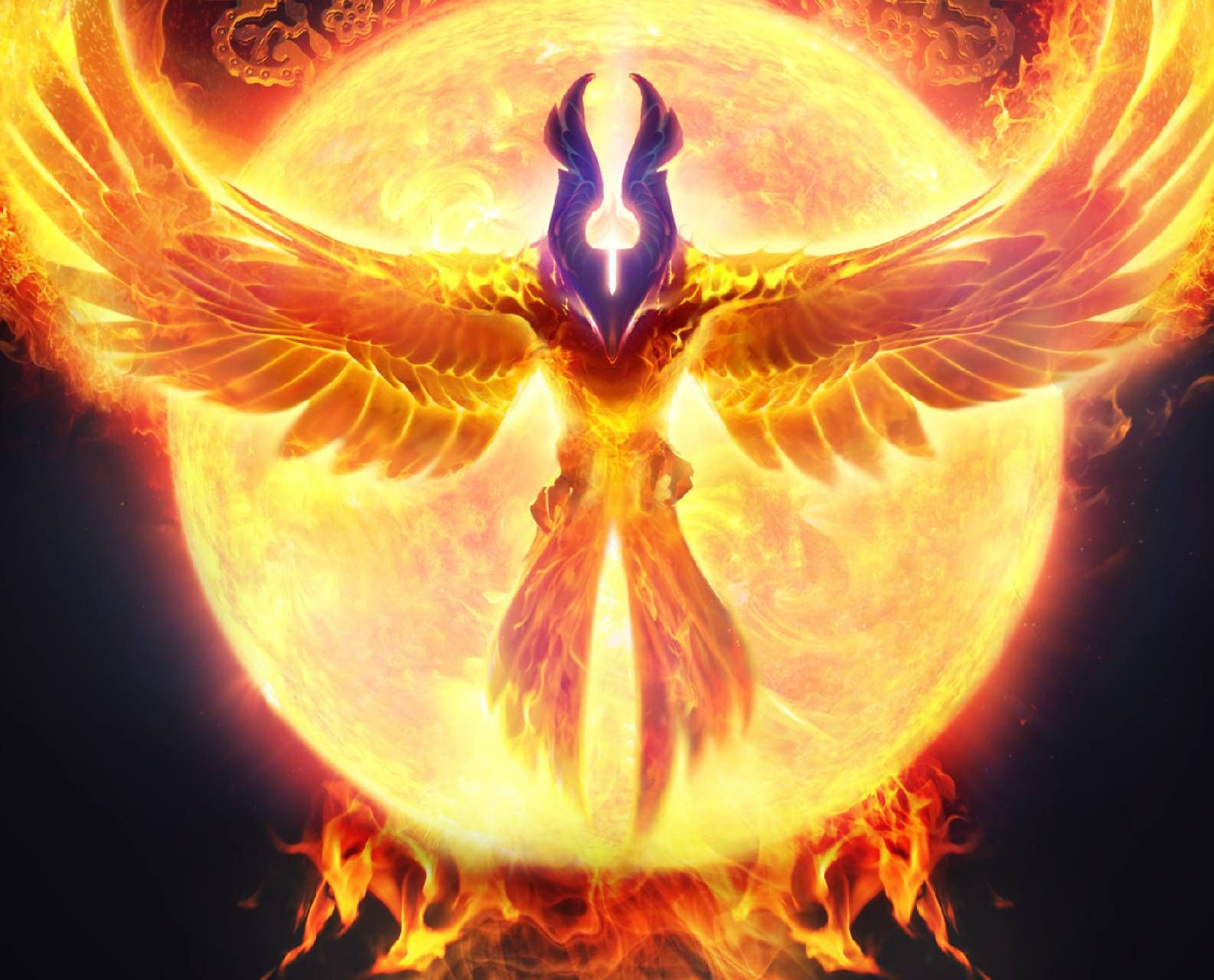 Phoenix Bird Wallpaper