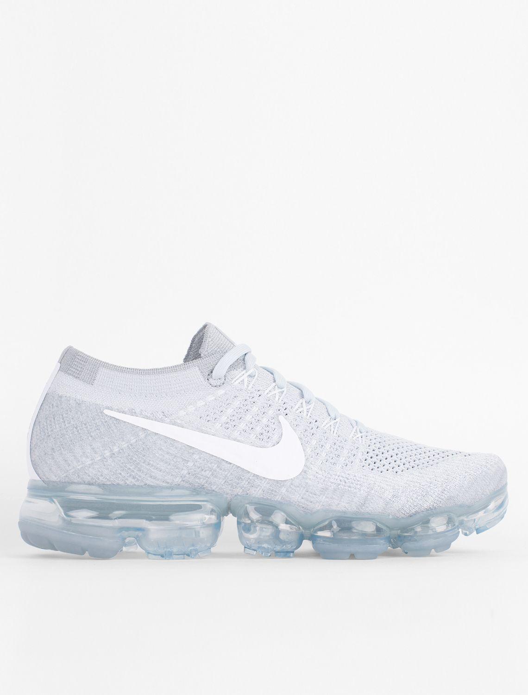 2018 Nike Shoes Air Vapormax Nike Wmns Nike Air Vapormax Flyknit White Sail Light Bone New Year Deals