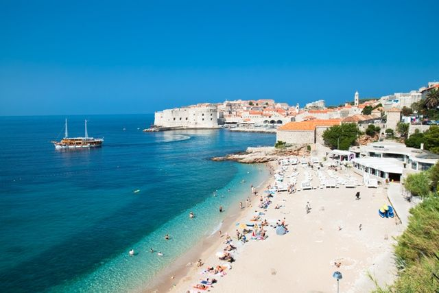 Dubrovnik Beach Beautiful Beaches Croatia Beach Most Beautiful Beaches