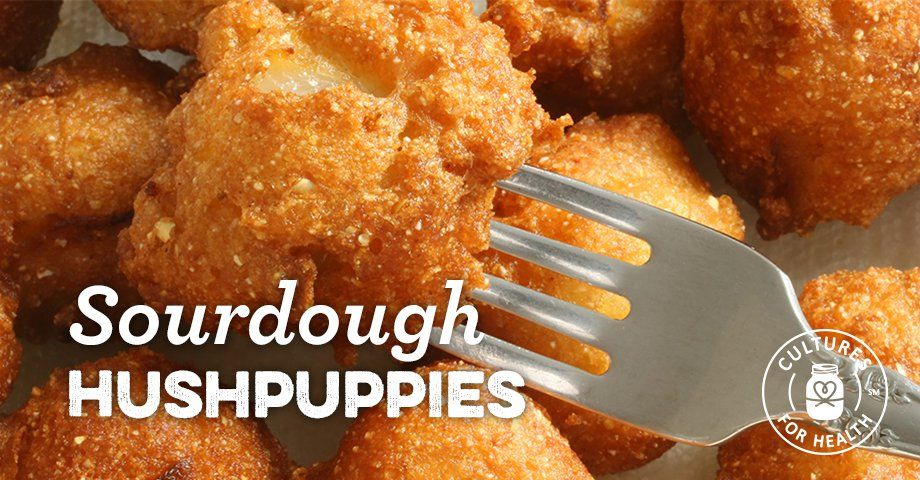 Sourdough Hushpuppies Recipe With Images Sourdough Food Comfort Food Southern