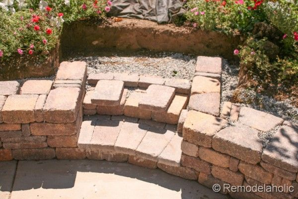 Diy Rumblestone Seat Wall And Fire Pit Kit Installation Fire Pit Kit Wall Seating Gas Fire Pit Kit