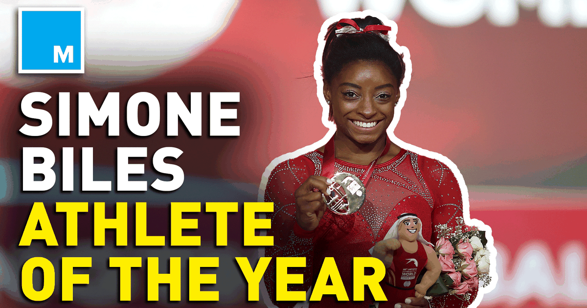Team USA names Simone Biles female athlete of the year