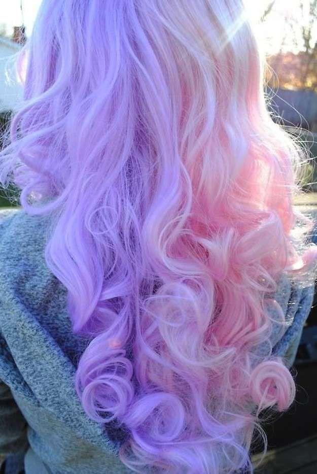 Resultado De Imagen Para Pelo De Color Lila Pastel Hair - Color-lila-pastel