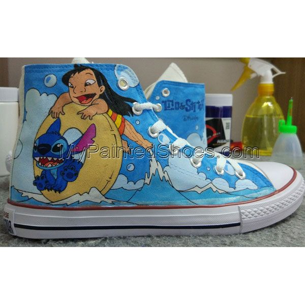 Converse All Star Stitch Shoes Hand Painted Shoes Men Women s ... f17ad977d