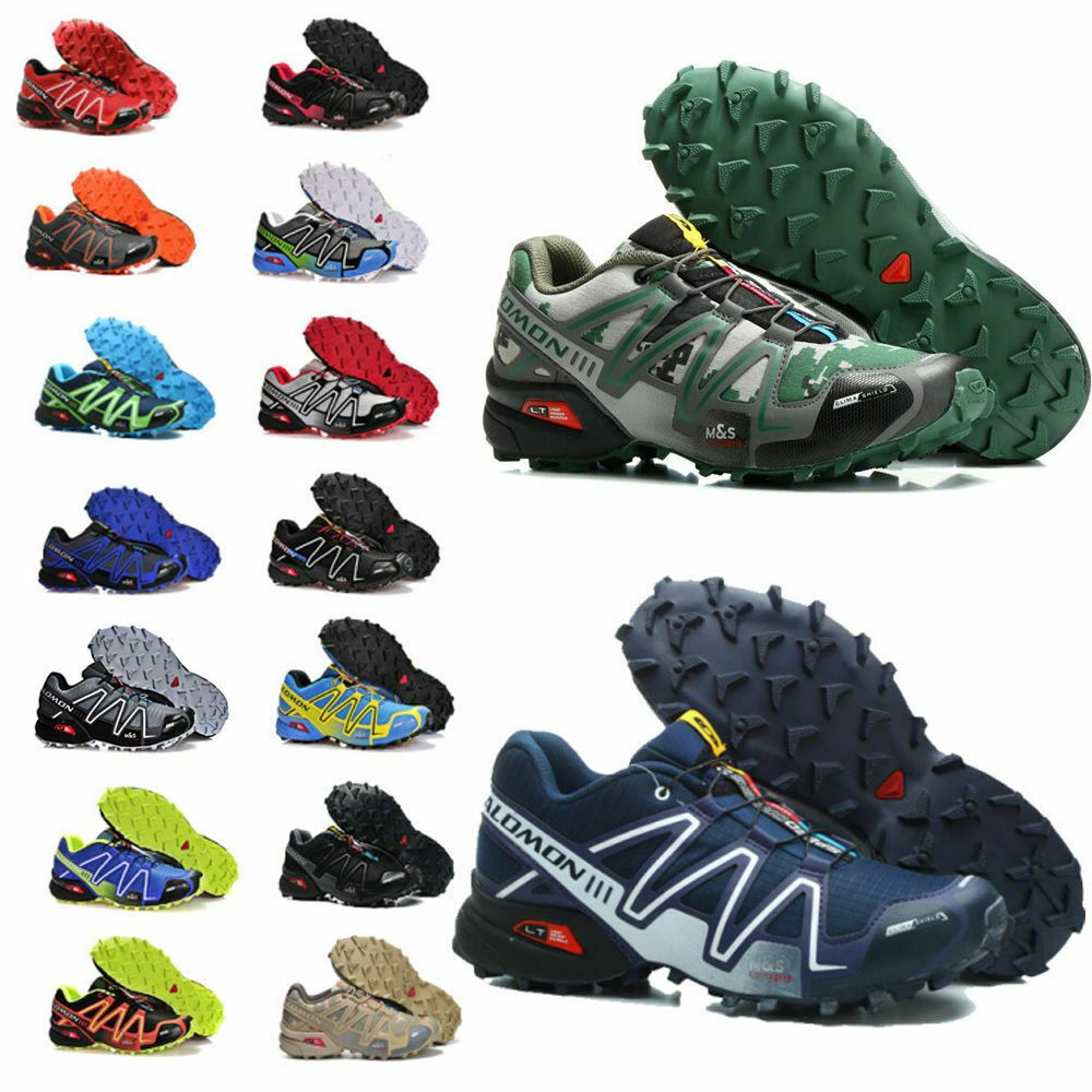 Größe 40 46 Herren Schuhe Salomon Speedcross 3 Outdoorschuhe