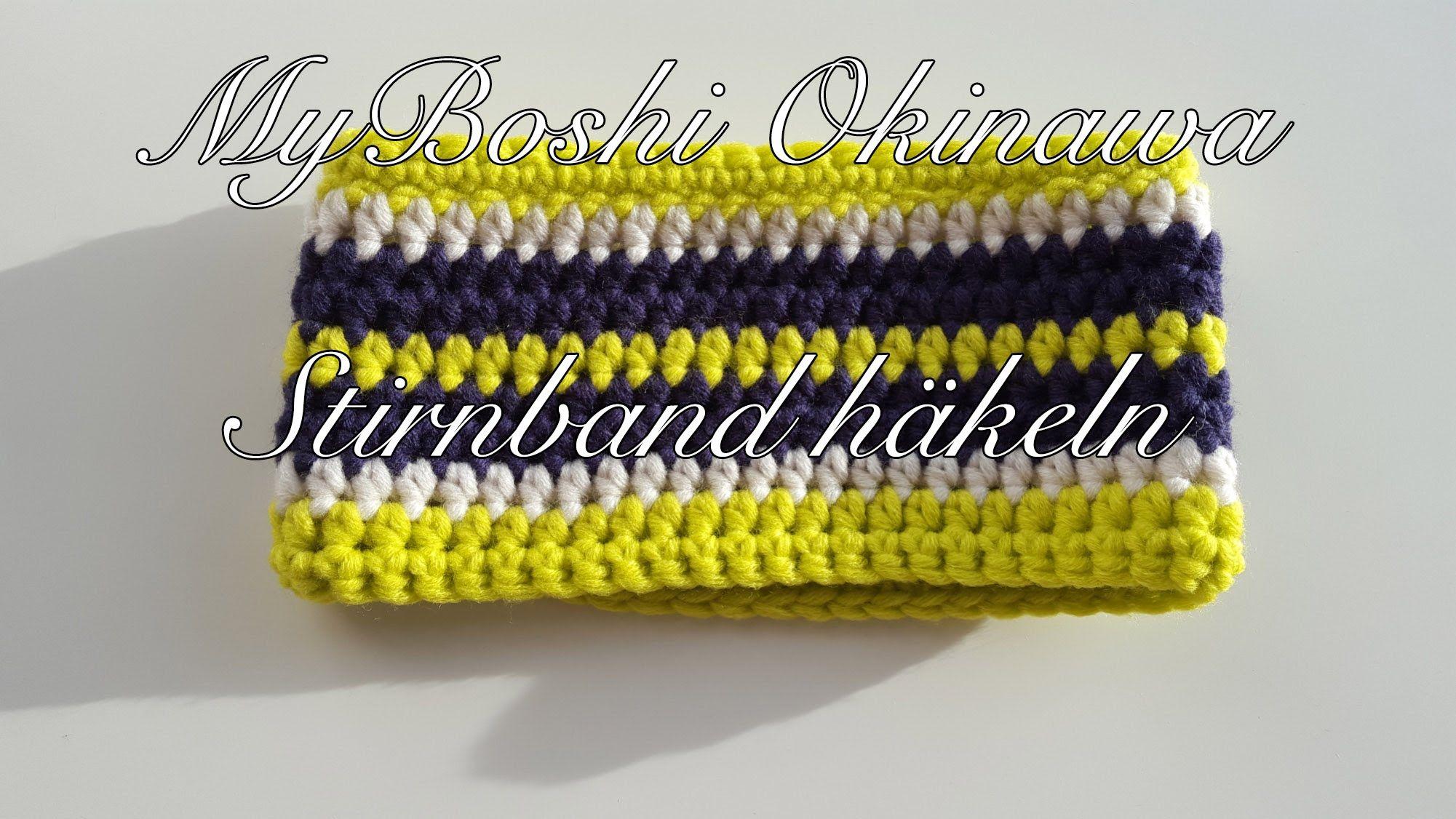 Stirnband Häkeln Myboshi Okinawa Tricot Et Crochet Pinterest Diy