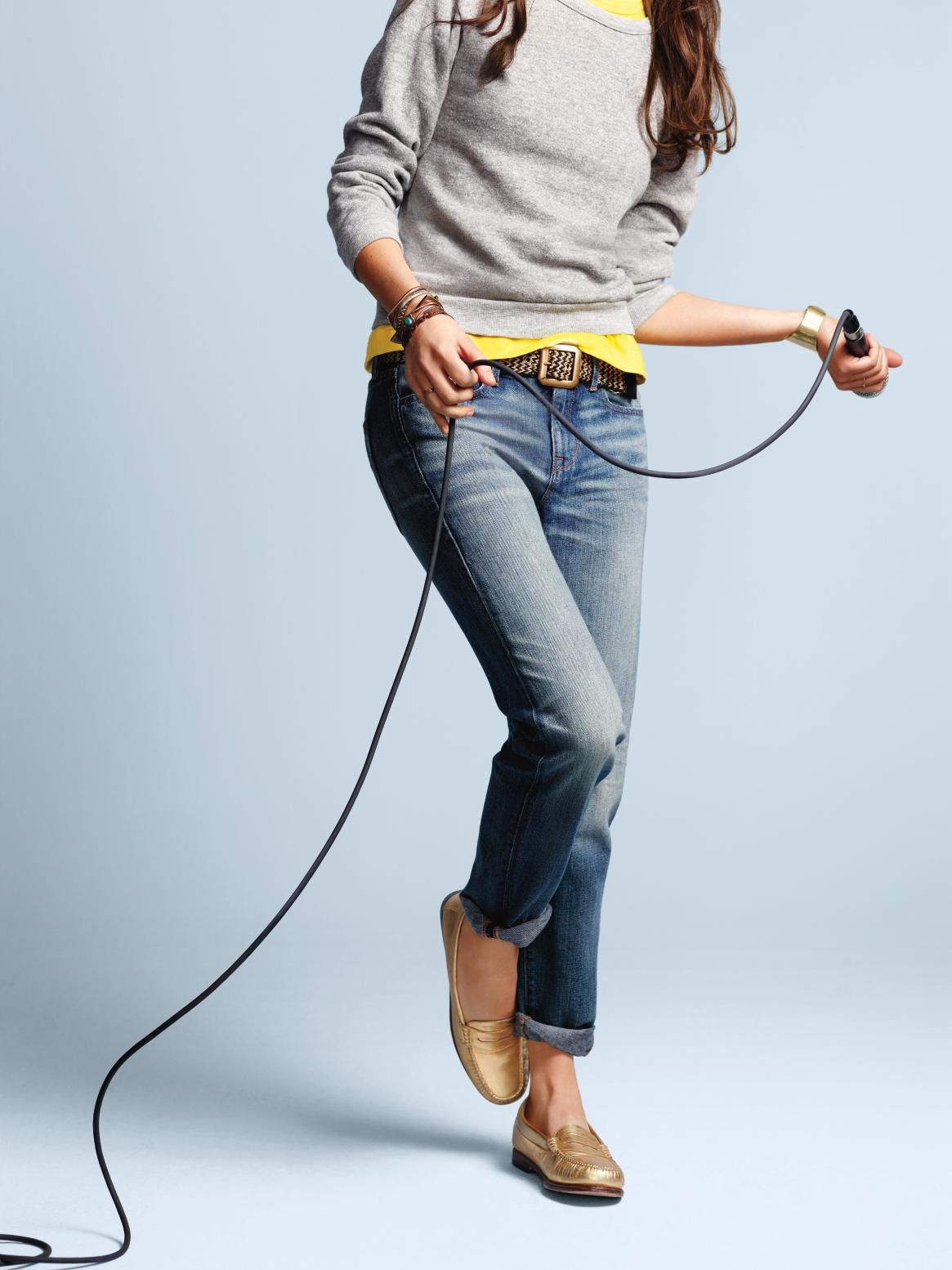 "Lia Ices, singer-songwriter, shines in The 1969 Sexy Boyfriend Jean. Fall 2012 ""Icons Redefined"" Collection."