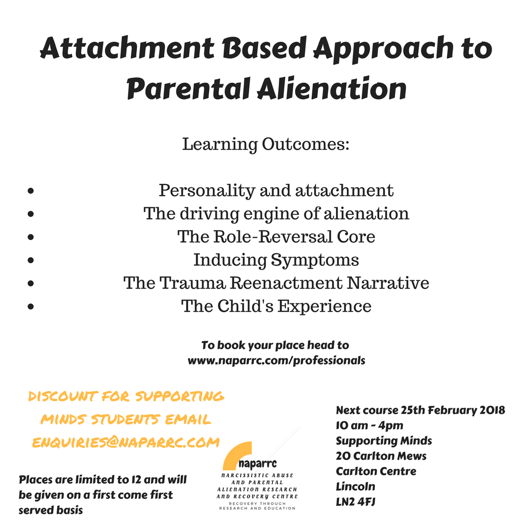 Reversing parental alienation
