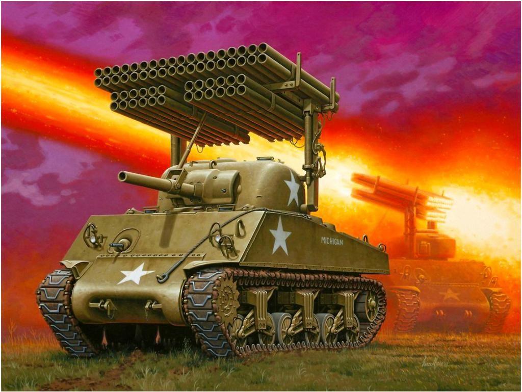 M4A3 Sherman 'Calliope'