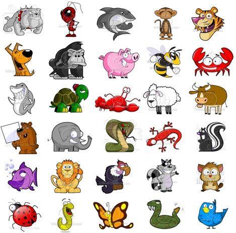 Animals Cartoon Animals Cute Cartoon Animals Cute Animal Clipart