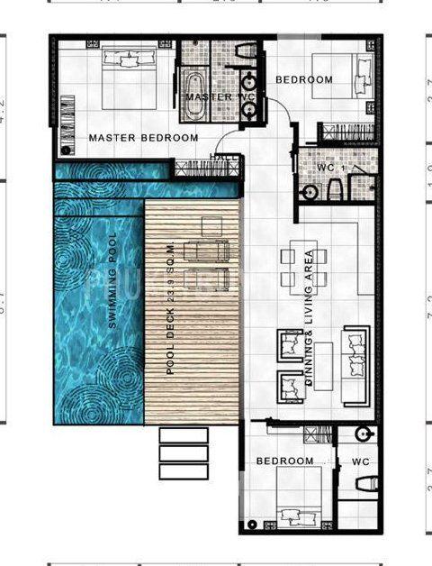 Lay4524 Tropical Modern Villa With 3 Bedrooms Phuket Buy House Lay4524 Tropical Modern Villa W Pool House Plans Container House Design Modern House Plans