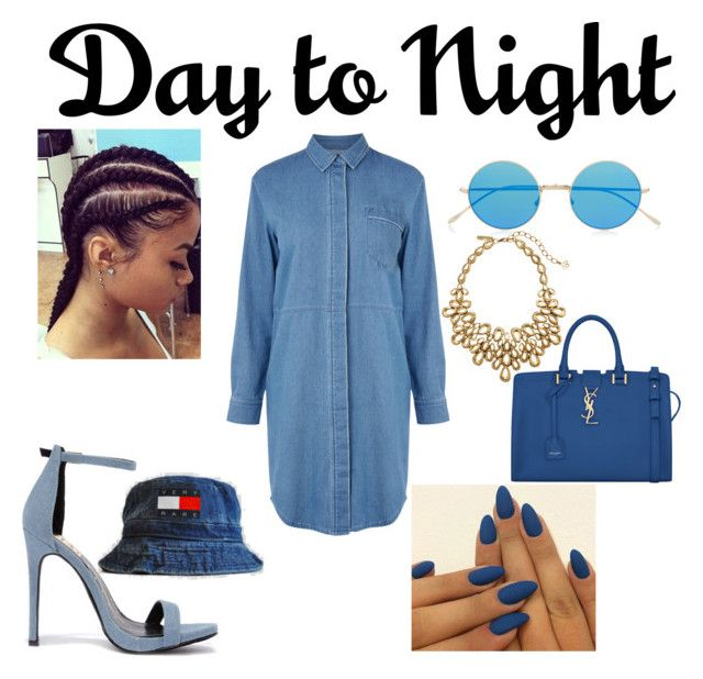 """""""Day 2 Night"""" by thickgirlfashion ❤ liked on Polyvore"""