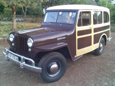 My 1947 2 Wd Willys Overland Stationwagon Right Hand Drive