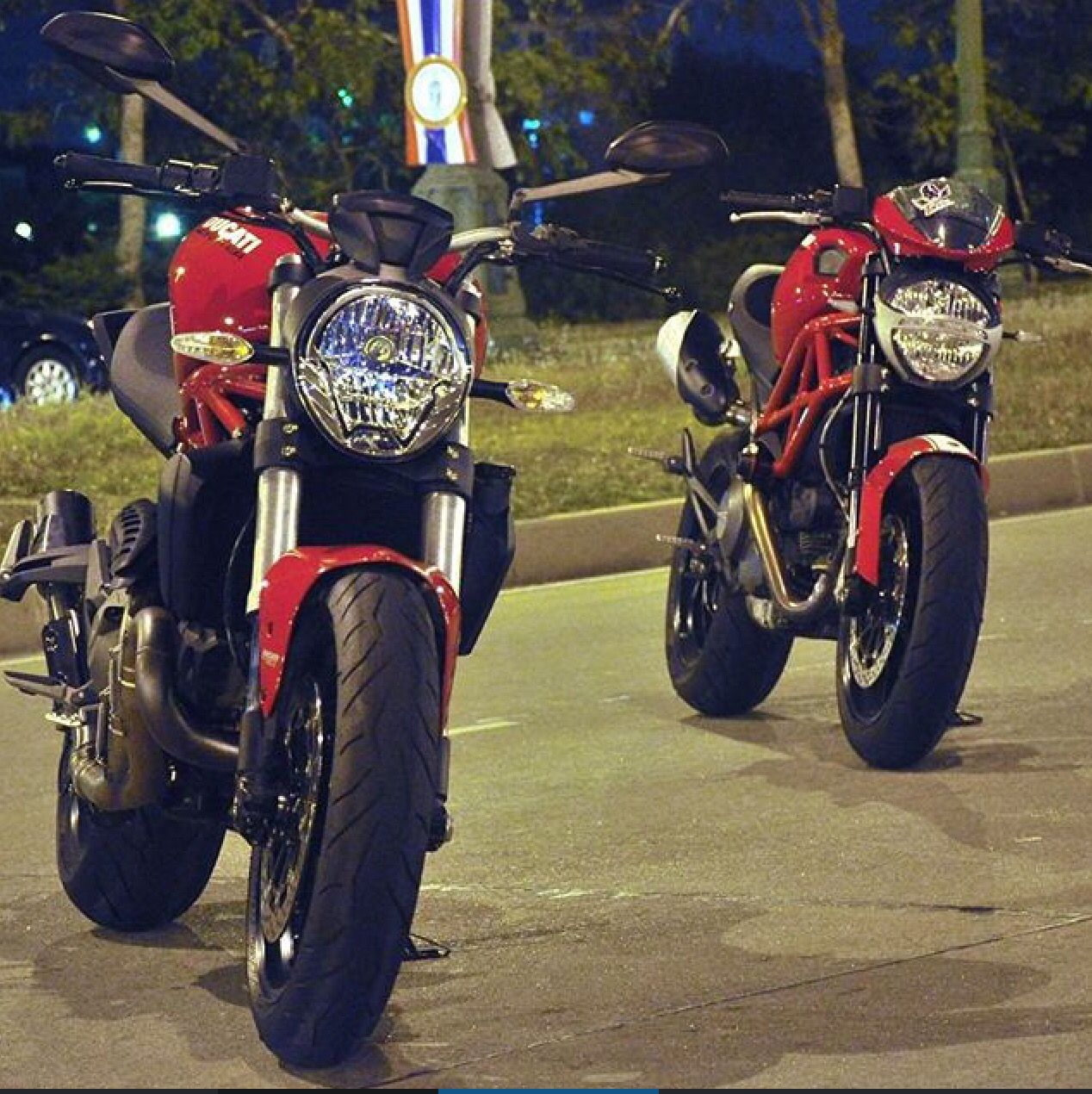 Ducati Monster 821 Vs 796