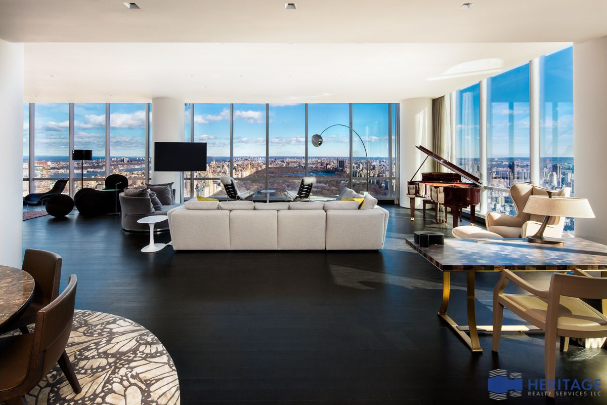 new york city's third priciest rental is this $120,000/month one57