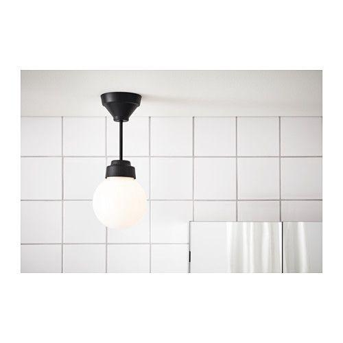 VITEM–LLA Stropn osvětlen kov sklo IKEA