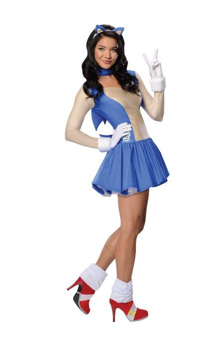 Sonic The Hedgehog Costume Sonic Costume Sonic The Hedgehog Costume Costumes For Women
