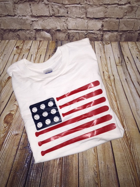 Custom baseball flag shirt | Baseball flag, Flag shirt ...
