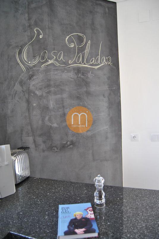 Microcrete Cozinha Chakall