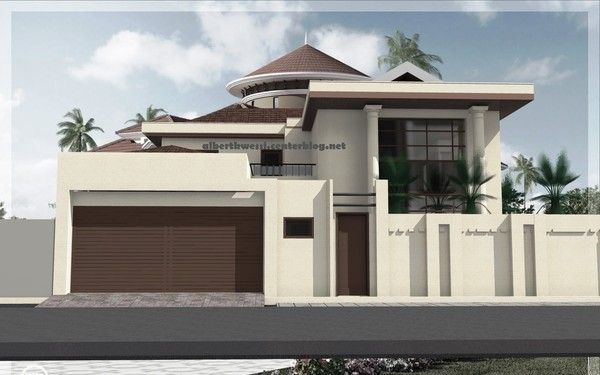 Projet de construction d 39 une villa a dakar au senegal for Architecture des villas modernes