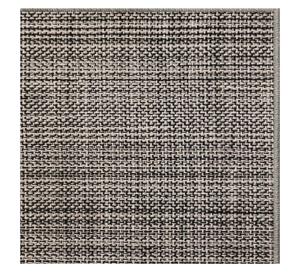 Tweed Synthetic Rug 5 X 12 Ebony Rugs High Performance