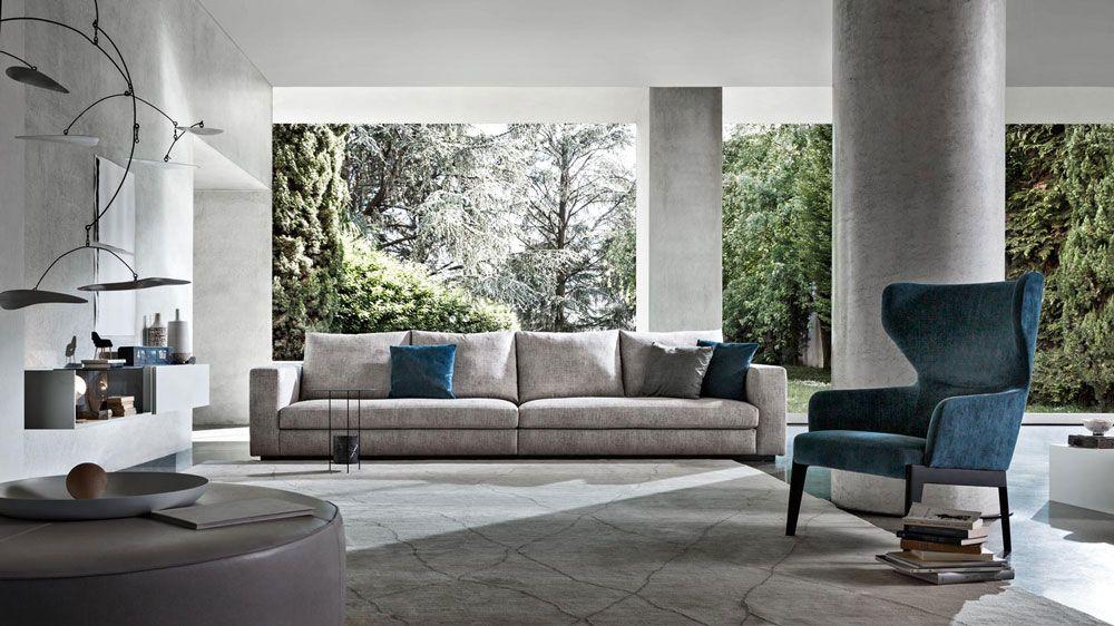 Divan, fauteuil et décorations design. http://www.denisinterieur.be ...