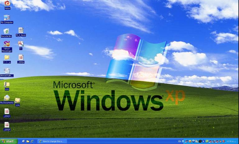 Windows XP ISO Download, Windows XP Main Screen, Windows XP