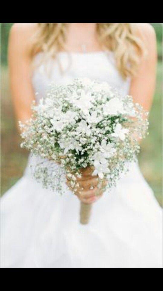 Angel S Breath Boquet White Wedding Bouquets White Bridal
