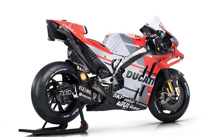 Download Wallpapers Ducati Desmosedici Gp18 4k 2018 Bikes Sportsbikes Rear View Ducati Besthqwallpapers Com Ducati Motogp Ducati Motogp