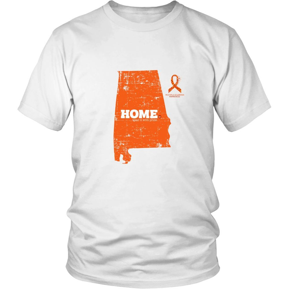 Alabama - Multiple Scelrosis Awareness Home Tee