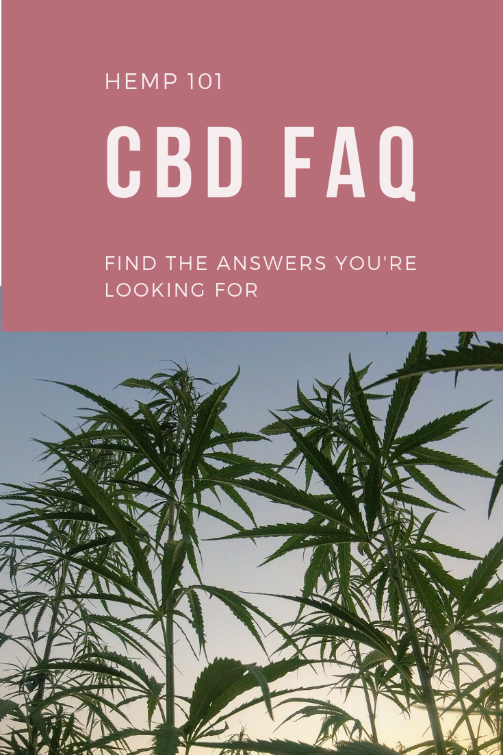 CBD FAQ Many know the benefits of CBD, but do you? Find