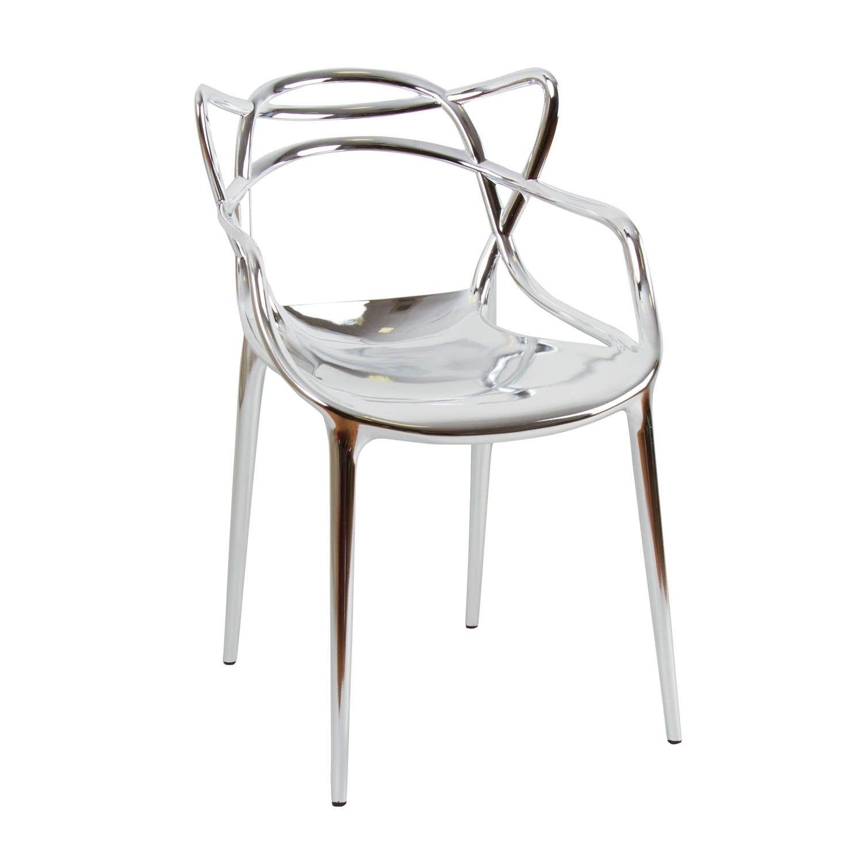 Sedia Philippe Starck modello Masters color argento. Preludio ...