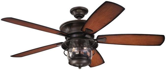 Brentford 52 Inch Reversible Five Blade Indoor Outdoor Ceiling Fan Outdoor Ceiling Fans Ceiling Fan Ceiling Fan With Light