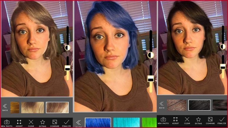 Change Your Hair Color Apps Androiddig Com In 2020 Change Hair Color Change Hair Hair Colour App
