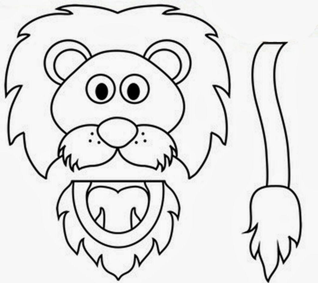Printable coloring pages daniel and the lions den - Daniel And The Lions Den Paper Bag Puppet Clip Art Use 4 Bible Story Of Daniel In The Lion S Den