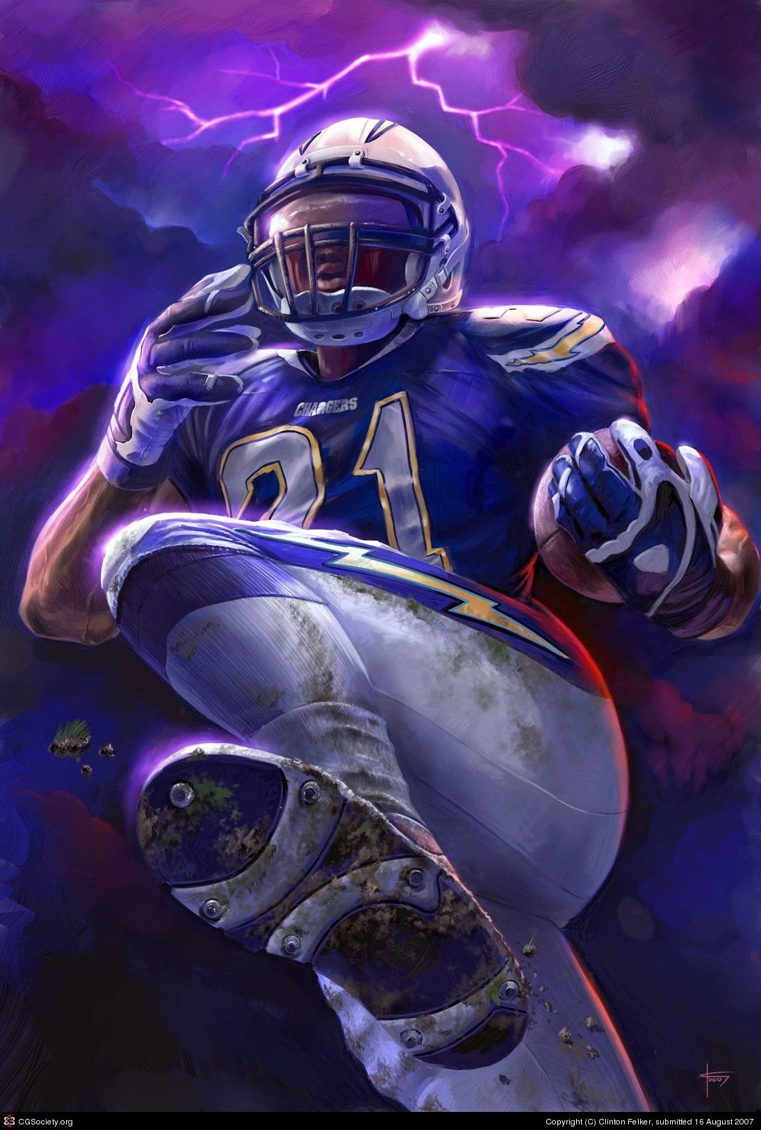 LaDanian Tomlinson and Terrell Davis are the latest running backs to be  inducted to the Hall of Fame. Getty Images/Yardbarker Illustration