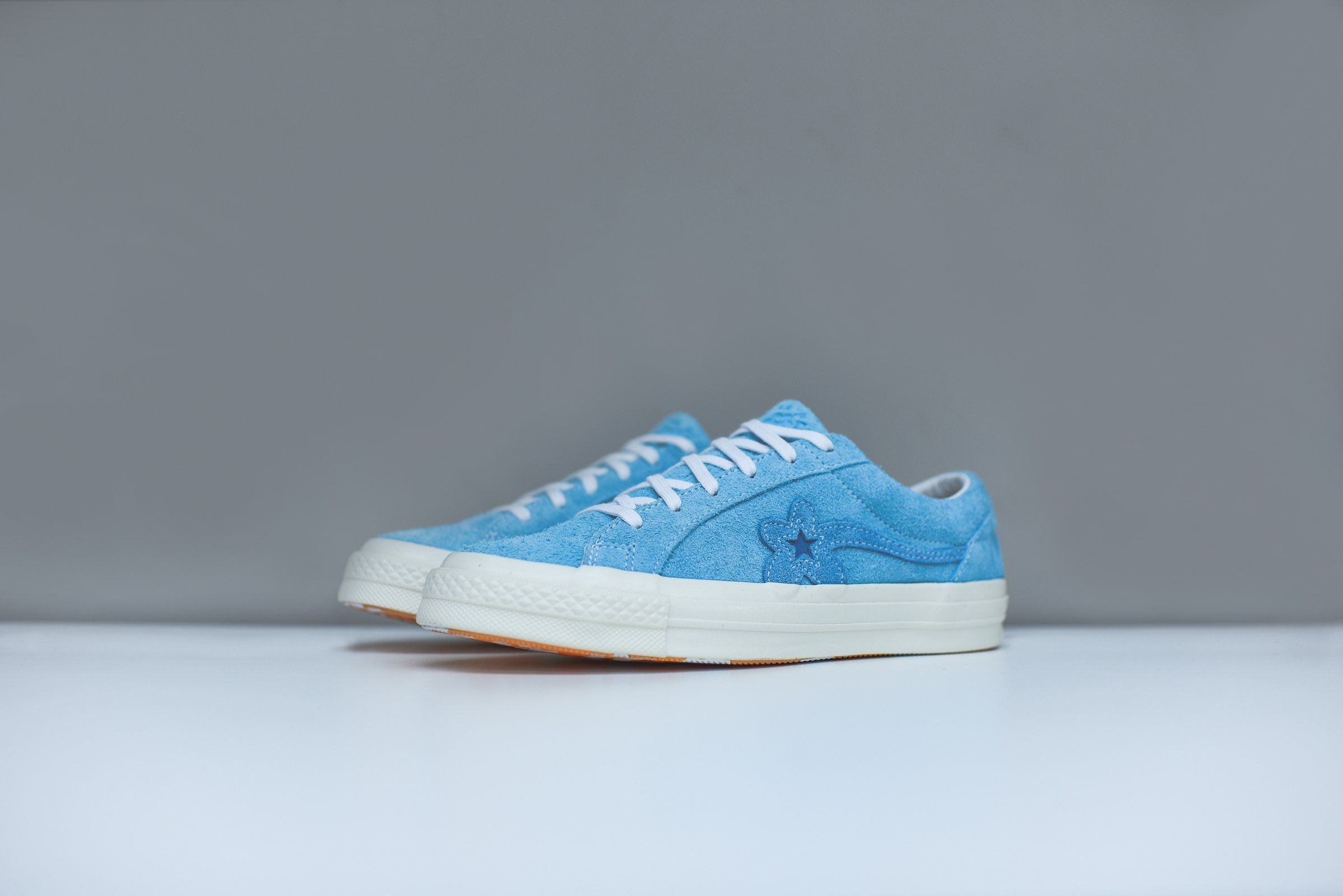 19516064d6d Converse x Golf Le Fleur One Star - Bachelor Blue   White