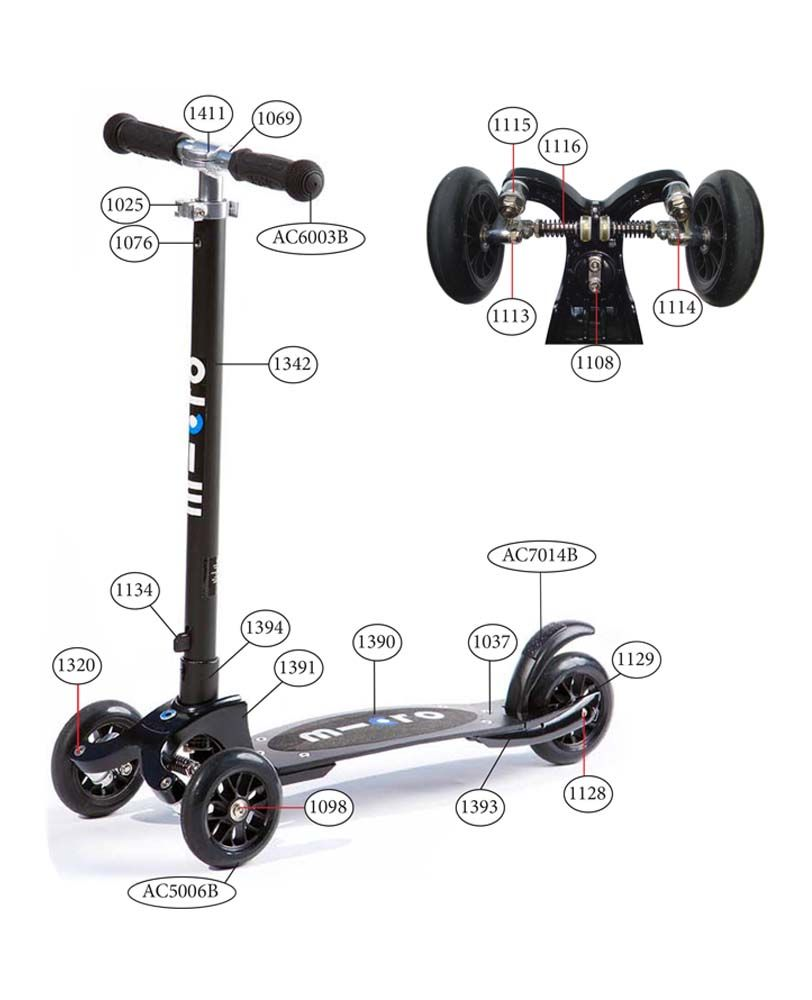 micro kickboard compact scooter spare parts pxid. Black Bedroom Furniture Sets. Home Design Ideas