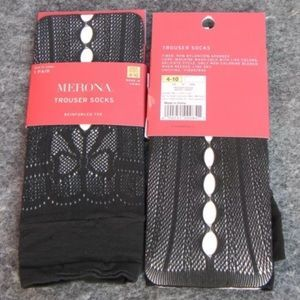 I just discovered this while shopping on Poshmark: Merona Trouser Socks -2 Pairs. Check it out! Price: $10 Size: OS