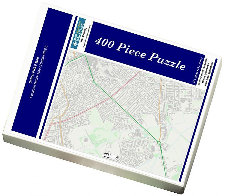 Jigsaw Puzzle Sefton PR8 6 Map
