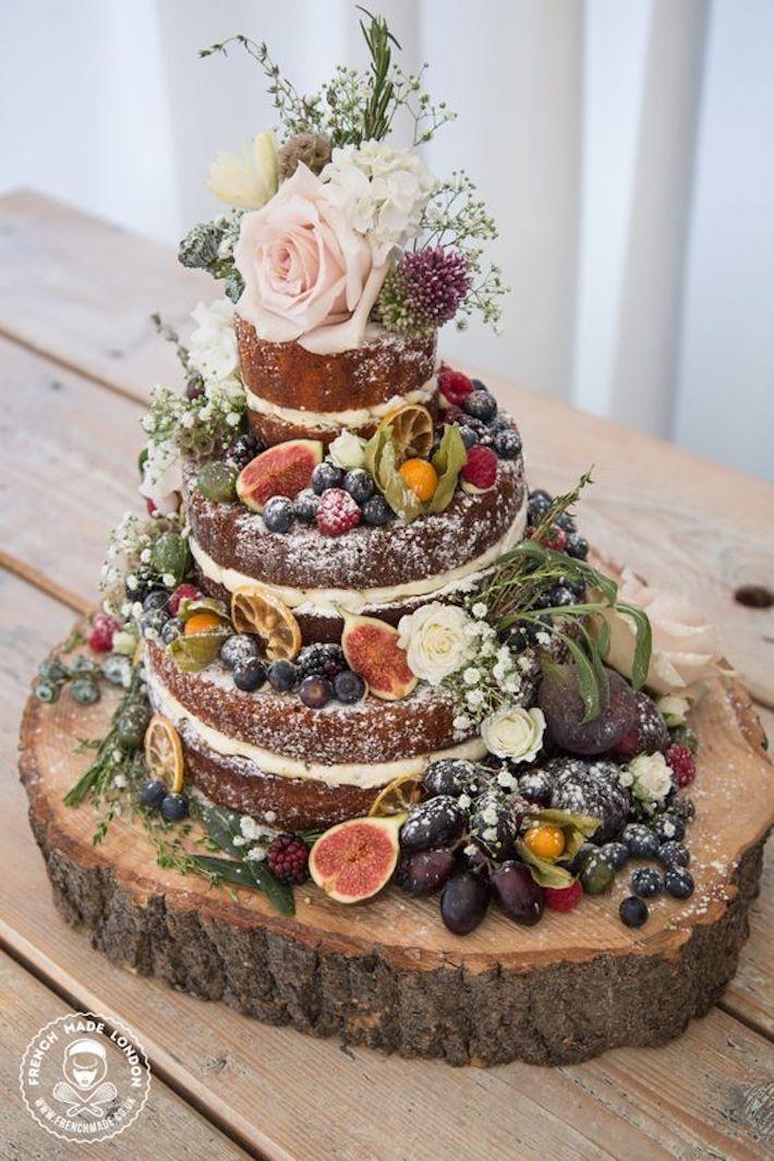 5 atemberaubende Herbsthochzeitstorten (und 3 können Sie selbst machen!)   - Angi's Wedding <3 #autumnscenery