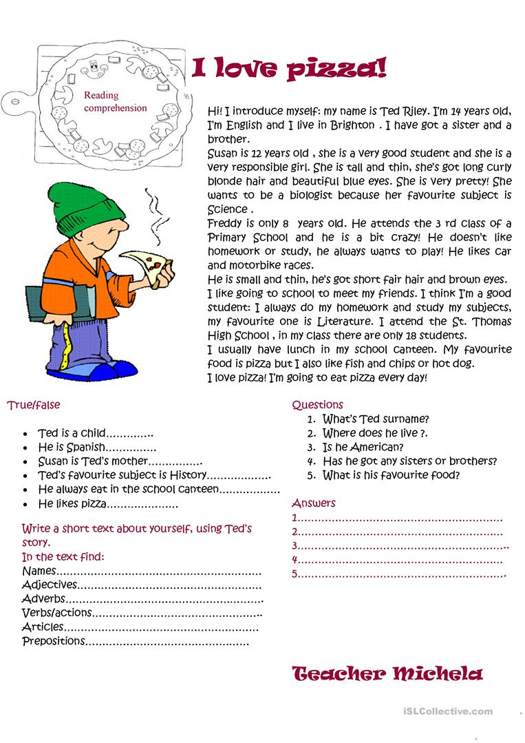 Read Spanish Passage And Answer Questions In English Spanishworksheet Newteachers Spanish Reading Comprehension Comprehension Worksheets Reading Worksheets [ 3300 x 2550 Pixel ]