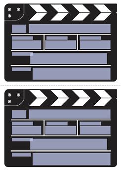 Einladung Filmklappe Druckvorlage Kinogutschein Basteln Einladung Vorlage Kostenlos Kinogutschein