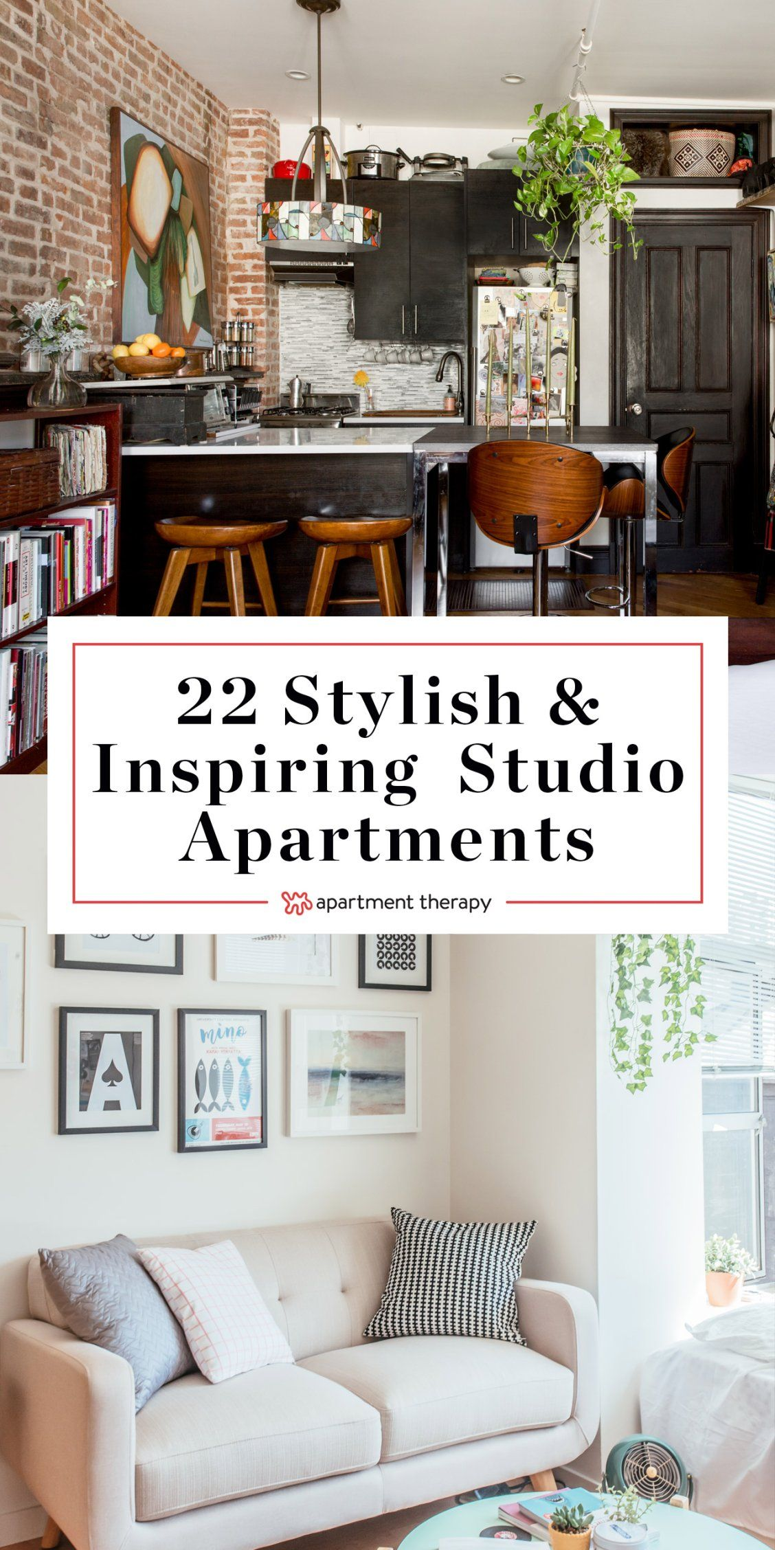 22 Of The Most Stylish Inspiring Studio Apartments Need Ideas And Inspiration For Living In Small Es Like Studios Or Even Rvs Campers Vans