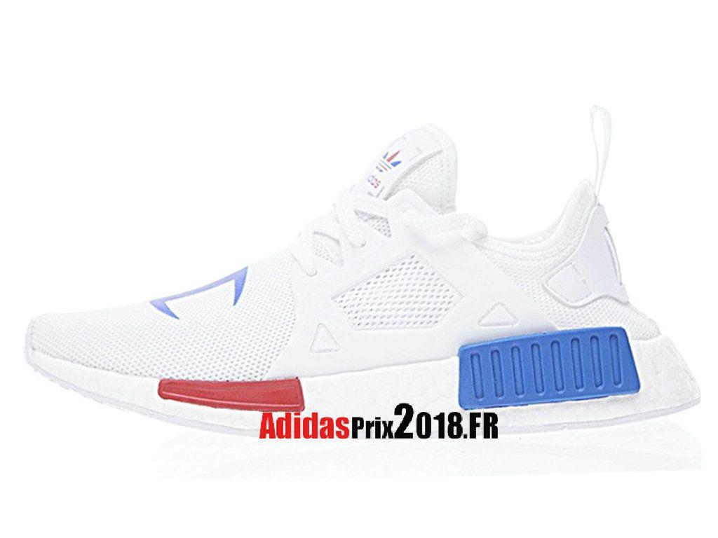 Champion X Adidas Nmd Boost Xr_1 BlancBleuNoir BA7768
