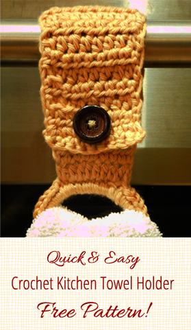 Crochet Towel Holder Crochet Towel Holders Crochet Kitchen And