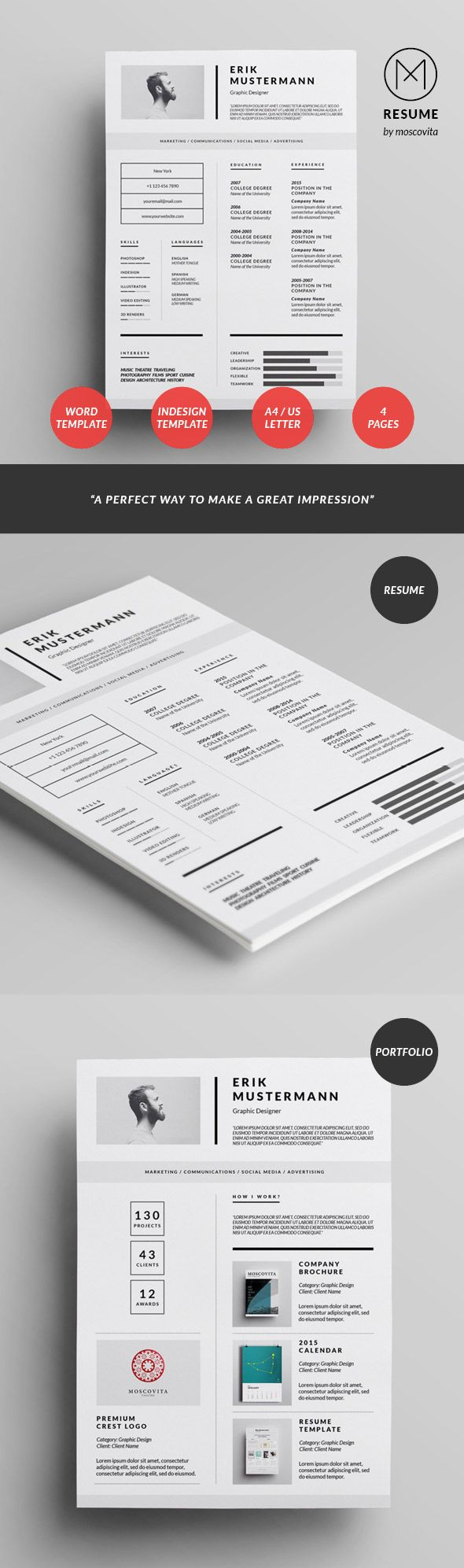 are you eyeing a brand new place  in that case is your resume design present  and can it