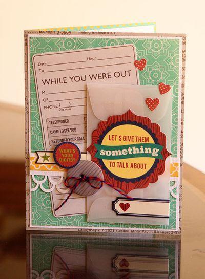 love the vellum envelope