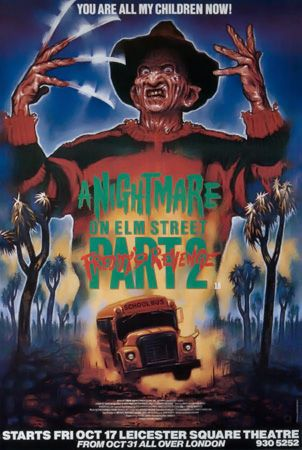 92 A Nightmare On Elm Street 2 Freddy S Revenge Watched 07 19 2014 Via Personal Collection Nightmare On Elm Street A Nightmare On Elm Street Horror Posters