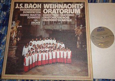Bach~Weihnachts Oratorium~Christmas~Regensburger~Hanns-Martin Schneidt~Ratzinger